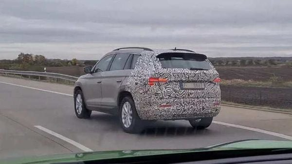 The updated Skoda Kodiaq will make world debut in early 2021. Credits: Pavel Srp/YouTube