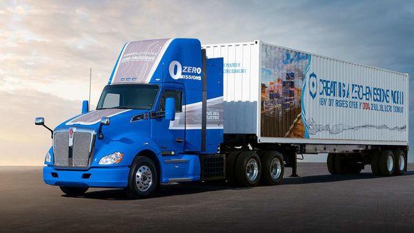 Toyota's next-gen fuel cell heavy-duty truck