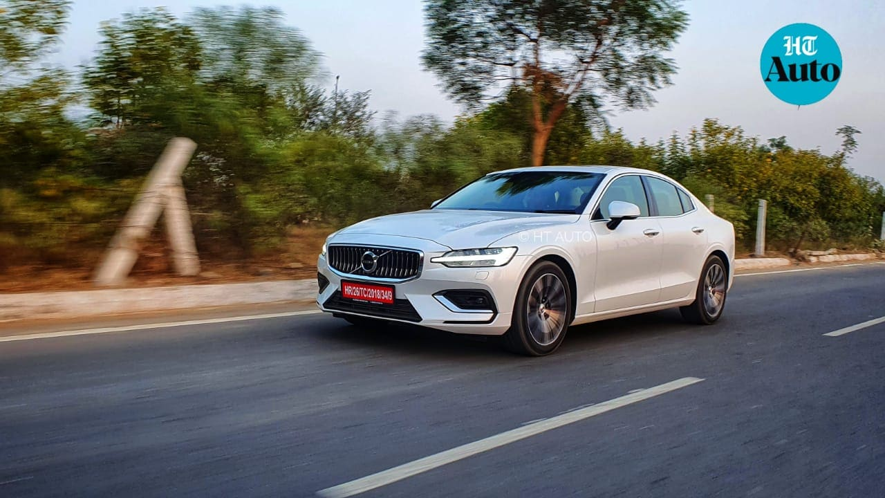 The new Volvo S60 has a youthful heart and the intention to thrill. But while it is fantastic when cruising along city or highway roads, it's sporty character is still not quite in the same league as some of its direct rivals. (HT Auto/Sabyasachi Dasgupta)