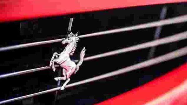 File photo of Ferrari logo