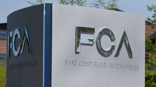 FILE PHOTO of Fiat Chrysler Automobiles sign at its US headquarters. (REUTERS)