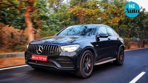 AMG GLC 43 Coupe from Mercedes-Benz becomes the first AMG to be locally assembled in India (HT Auto/Sabyasachi Dasgupta)