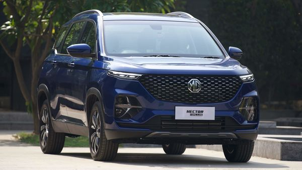File photo of MG Hector Plus.