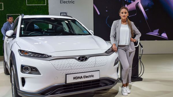 File photo of Hyundai Kona EV. (PTI)