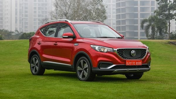 Representational image of ZS EV. MG Motor India currently retails three models in India – Hector, ZS EV and Gloster.