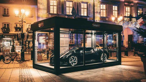 Bugatti La Voiture Noire on exhibit in France's Molsheim