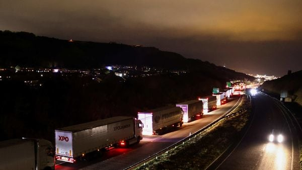 Representational photo of freight vehicles (REUTERS)