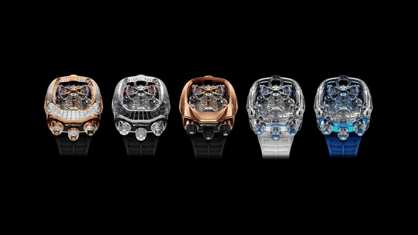 File Image: The new Bugatti Chiron Tourbillon collection by Jacob & Co (Newsroom.bugatti)