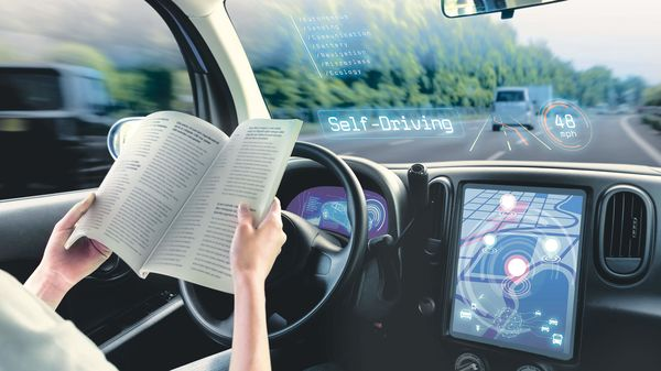 Representational Image: Lidar sensors provide autonomous cars with a real-time, 3-D view of the world.