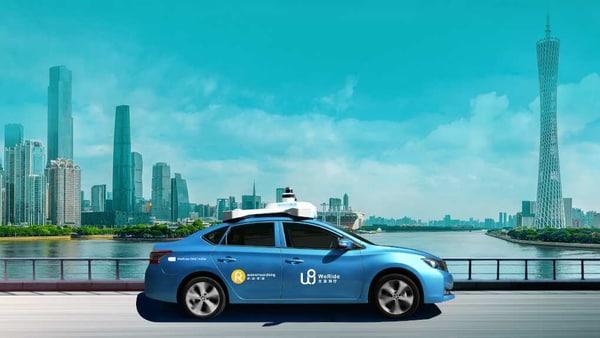 Photo of a WeRide autonomous vehicle. (Photo courtesy: WeRide.com)