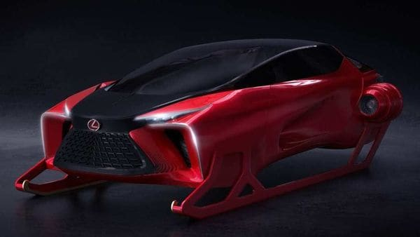 Lexus HX Sleigh Concept (This photo was uploaded on twitter by @lexuscanada)