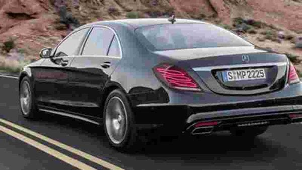 File photo of Mercedes S-Class.
