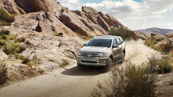 Ford Endeavour rivals the likes of Toyota Fortuner.
