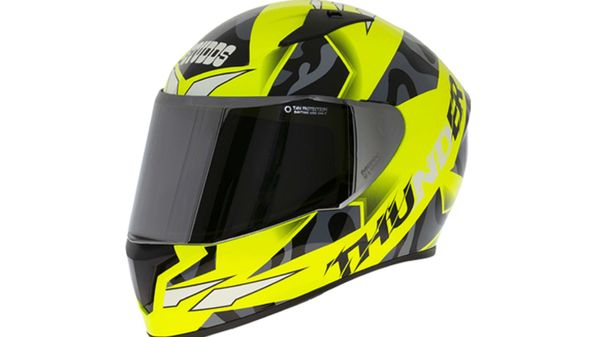 The new Studds Thunder D7 Decor has been made available in seven different colour options.