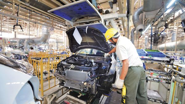 Production of Maruti vehicles rose 4.33% y-o-y last month. (MINT_PRINT)