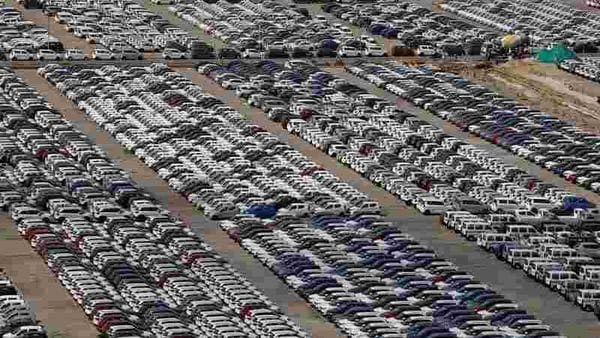 File photo of Maruti Suzuki cars parked at its Manesar plant near Gurugram. (Photo used for representational purpose) (REUTERS)
