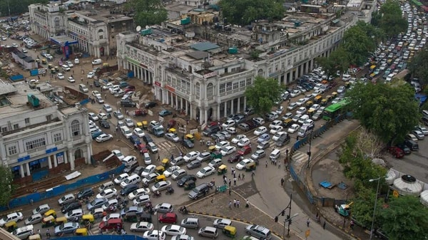 Delhi Police has issued traffic advisory for New Year's eve celebrations at Connaught Place. (File photo)