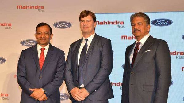 In October 2019, Ford and Mahindra had announced a tie-up through which Ford planned to transfer its India operations to the joint venture.