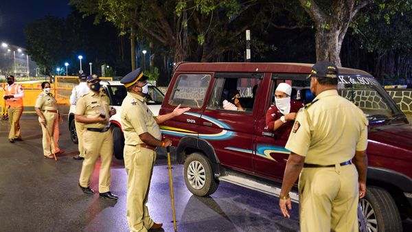 Police took action against 35 drunk drivers in Mumbai during the New Year celebrations. (PTI)