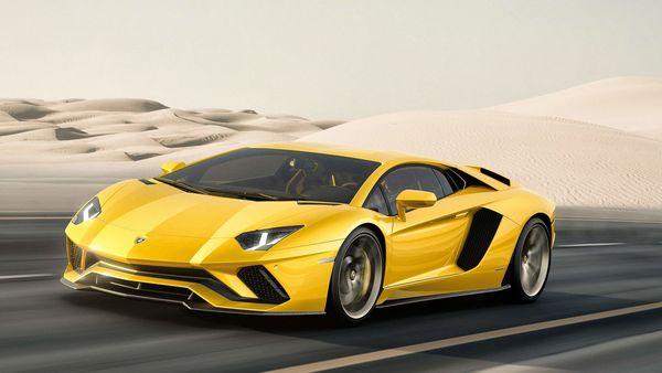 File image: the Lamborghini Aventador S