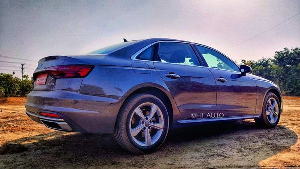 Audi A4 is the first launch in the Indian car market in 2021 - January 5 - and is looking at making a big statement in the luxury sedan space. (HT Auto/Sabyasachi Dasgupta)