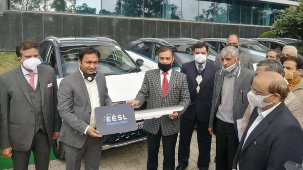Tata Nexon EVs being delivered to Haryana government