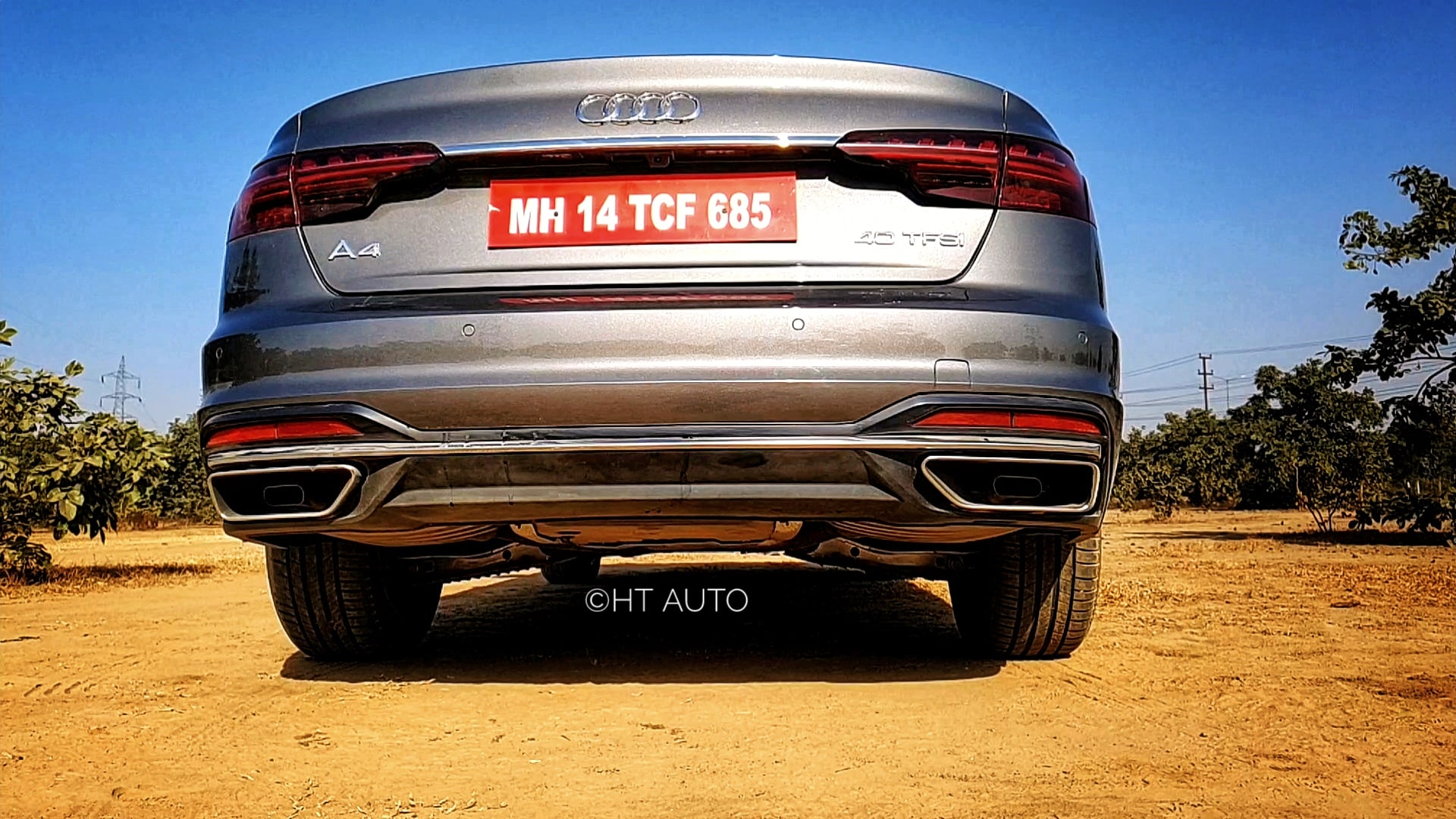 The sedan sits on 17-inch alloy wheels and the look is completed at the rear with a clean profile and starry LED tail lights.