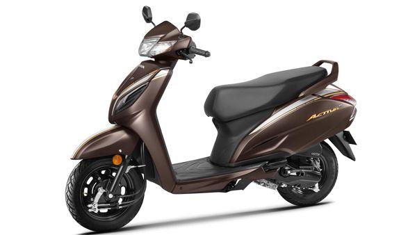 Representational image of Honda Activa 6G 20th anniversary special edition.