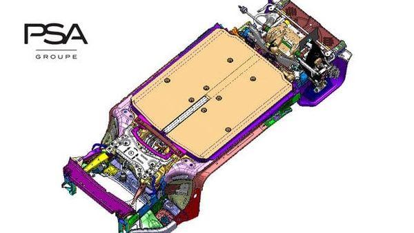 File image: PSA's electric vehicle modular platform