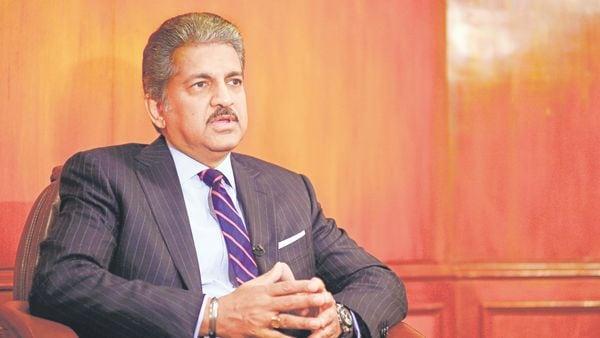 Mahindra Group chairman Anand Mahindra (MINT_PRINT)