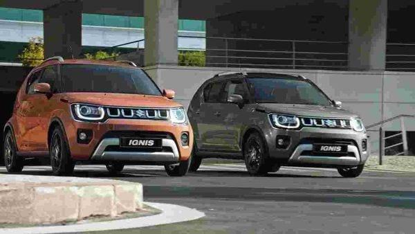 The new Ignis from Maruti Suzuki.