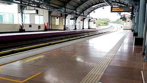 File photo of a metro station used for representational purpose