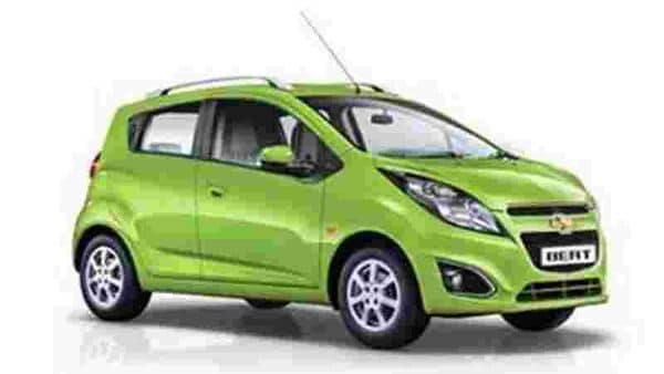 File photo of a Chevrolet Beat hatchback.