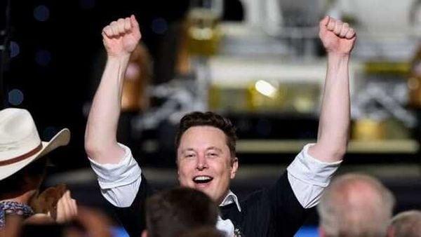 Tesla shares surged 7.9% on Thursday boosting Elon Musk past Amazon founder Jeff Bezos (REUTERS)