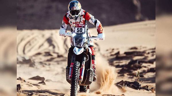 The incident occurred on the same stage where last year, Hero MotoSport rider Paulo Goncalves died while competing in the Dakar 2020.