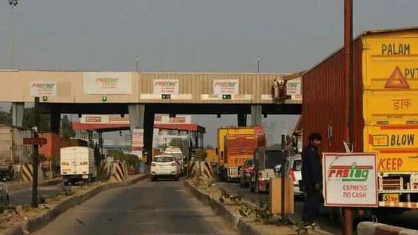 File photo of a toll plaza. (HT)