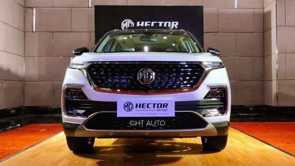 MG Hector 2021 gets several updates on the outside while the cabin is also more premium and with more features than in the previous model.