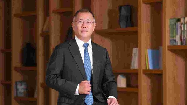 File photo of Hyundai Motor Group Chairman Euisun Chung