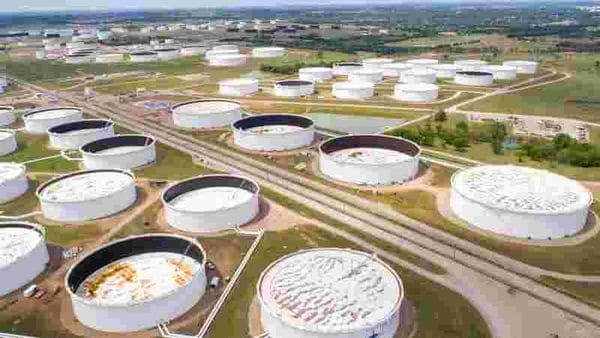File Photo: Crude Oil storage tanks (Representational image) (REUTERS)