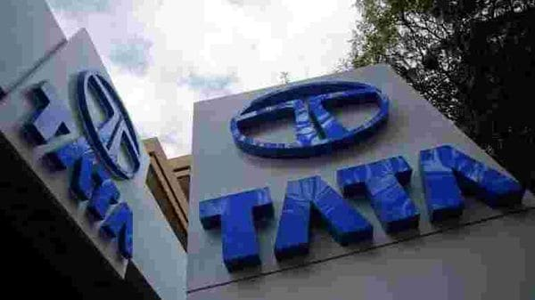 File Image: Tata Motors logos are seen at their flagship showroom (REUTERS)