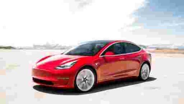 File photo of Tesla Model 3.