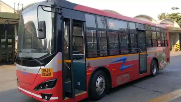 Photo of an electric bus received by BEST under Central government-sponsored FAME India scheme. (File photo)
