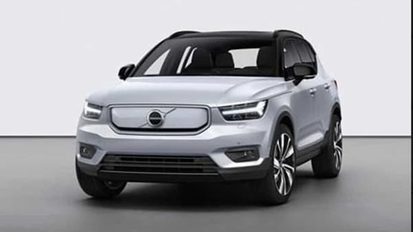 Volvo's first fully electric SUV XC40 Recharge. (File photo)