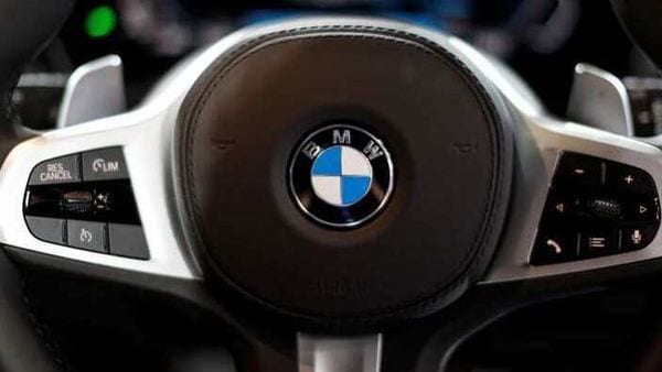 File image: BMW Logo as seen on its steering wheel (REUTERS)