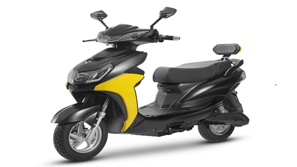 Odysse E2Go gets telescopic front forks, and dual spring hydraulic rear shock absorbers.