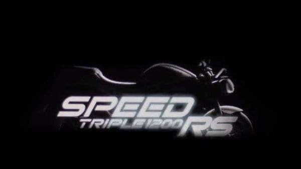 Triumph is yet to officially announce details on the technical specification of the new Speed Triple 1200 RS.