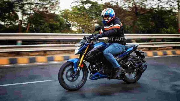 Honda Hornet 2.0 rivals the Bajaj Pulsar NS 200. (HT Auto/Sabyasachi Dasgupta)