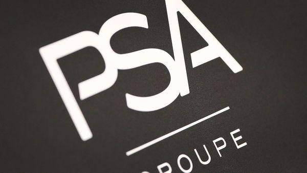 File photo: Logo of PSA (AFP)
