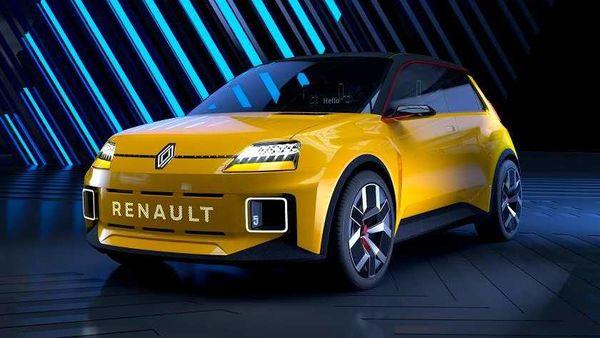 Renault 5 reborn as electric car.