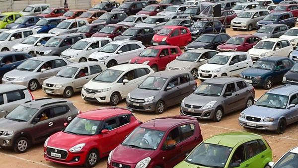 Passenger vehicle sales in India grew by 14 per cent in December. (File photo) (PTI)